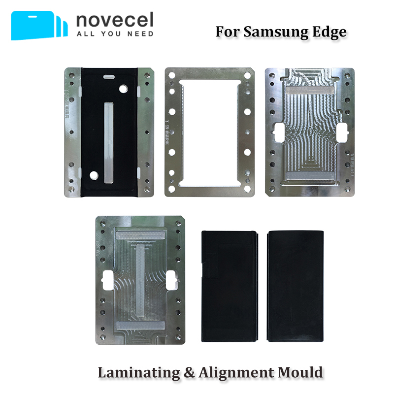 For <font><b>Samsung</b></font> S8 <font><b>S9</b></font> S10 Plus S10E S7edge LCD <font><b>Screen</b></font> OCA Polarizer Alignment and Laminating Mold for Novecel Q5 A5 YMJ Laminator image