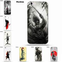 For Sony Xperia Z Z1 Z2 Z3 Z4 Z5 compact Mini M2 M4 M5 T3 E3 E5 XA XA1 XZ Premium Soft TPU Coque Case Capa Courage Of Samurai(China)