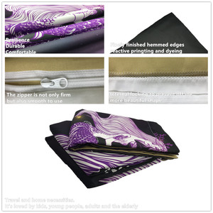 Image 4 - طقم سرير 3D لحاف مطبوع غطاء طقم سرير البحر حورية البحر المنسوجات المنزلية للبالغين نابض بالحياة أغطية مع المخدة # MRY17