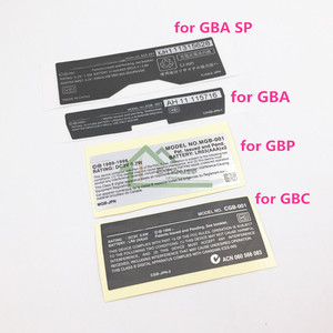 Image 1 - ل غبا/GBA SP/GBC لعبة وحدة التحكم جديد ابليس ملصقات الخلفي استبدال ل Gameboy Advance/SP/ اللون