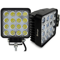 2pcs 4INCH 48W LED WORK WORKING DRIVE DRIVING LIGHT LAMP Epistar For OFFROAD 24V 4WD BOAT