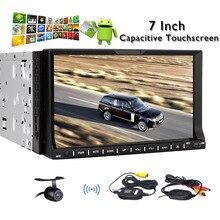 New 2din car dvd player with Android 4.4 Wifi in dash car radio universal VW Skoda POLO GOLF car gps radio Bluetooth Free camera