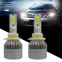 LED lamp for auto Bridgelux COB 9005 HB3 H10 108W DC 9-32V 16200LM LED Headlight Kit Hi/Lo Power Bulbs 6000K Car LED Headlight