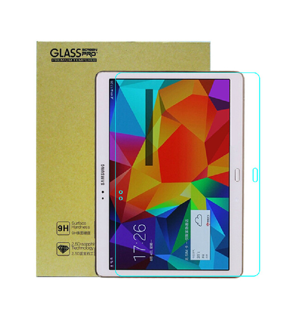 0.3 мм 9 H 2.5D премиум взрывонепроницаемый закаленное стекло протектор - анти-царапины фильма для Samsung Galaxy Tab S 10.5 T800 T805