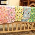 1 pic Waterproof diaper changing mat waterproof diaper mattress in a stroller reusable nappies developing mats 60*80 TND6