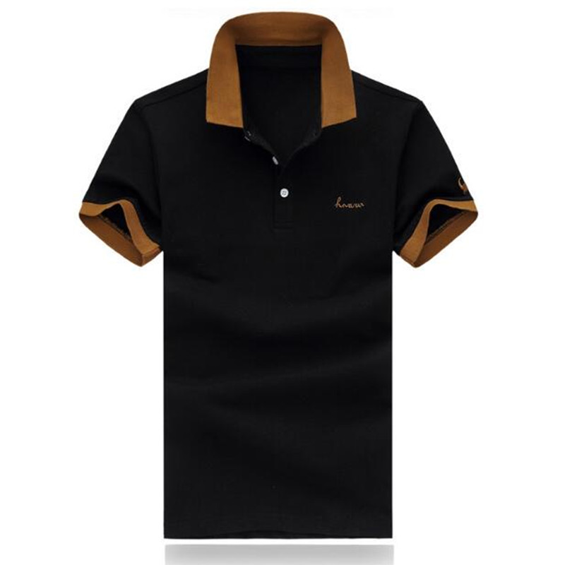 2019 New Brand New Match Colors Collar Men   POLO   Shirts Summer Style Short Sleeve Shirts Camisas   Polo   Plus Size M-5XL