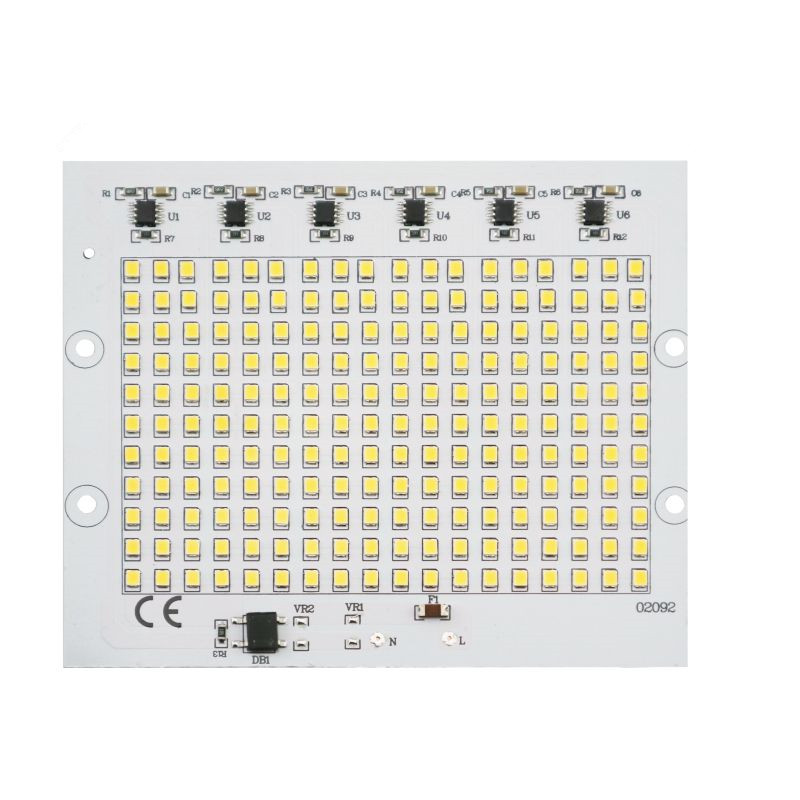 Smart IC 2835SMD LED Chips Lamp 10W 20W 30W 50W 100W AC 220V-240V DIY For Outdoor Floodlight Garden Cold White Warm White