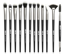 Makeup Brushes Set 12pcs/lot Eye Shadow Blending Eyeliner Eyelash Eyebrow for Make Up Professional Eyeshadow Brush
