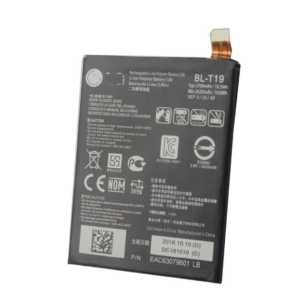 2700mAh 10.3WH 3.8V Battery For LG Google Nexus 5X H790 H791 H798 BL T19|Mobile Phone Batteries| |  - title=