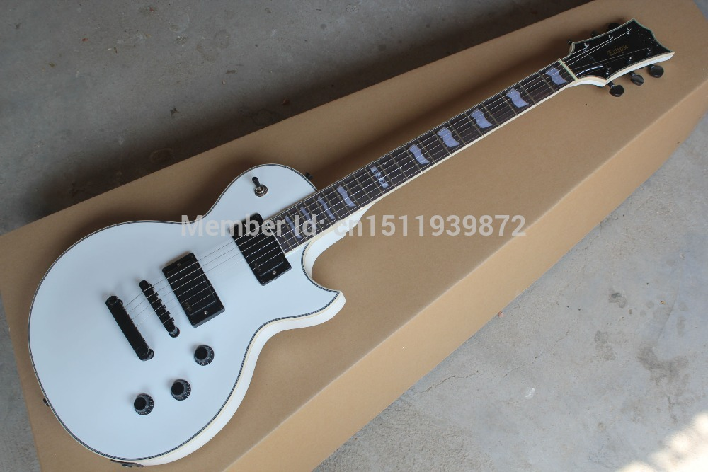 Free shipping EMG pick-up Active Pickup 9V Battery for ESP Custom shop Eclipse white Electric Guitar in stock