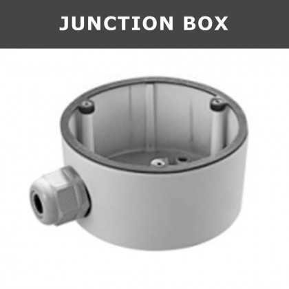 DS-1280ZJ-DM20 Junction Box Bracket CCTV Camera Accessories Conduit Base For 2CD27xx series Dome Camer ds 1602zj box pole ptz camera vertical pole mount bracket with junction box