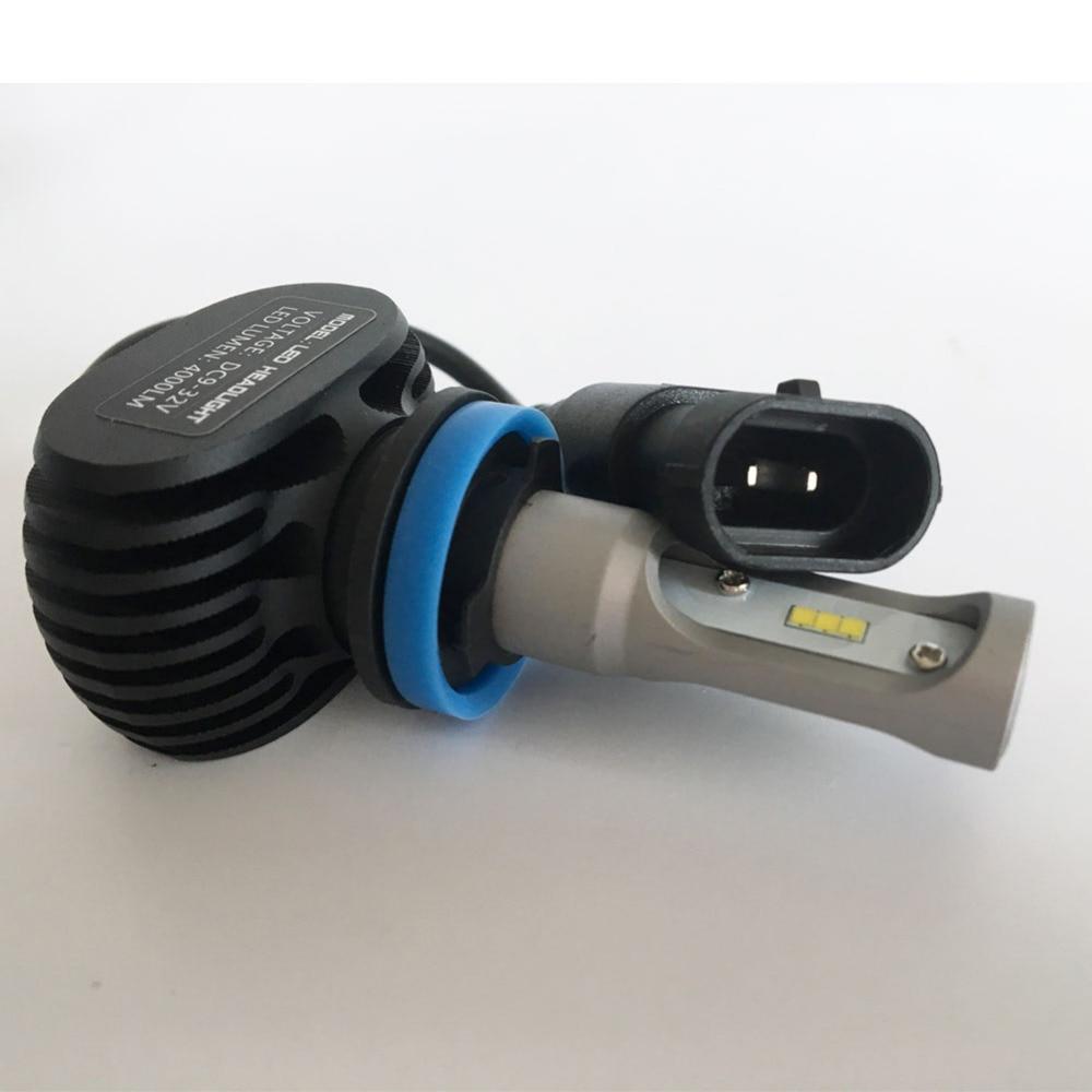 50W 8000LM Auto Light 6500K Blanco H8 H9 H11 Bombilla de faro LED - Luces del coche - foto 3