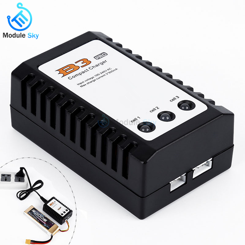 Kind-Hearted Eu Plug Balanced Battery Charger For Imaxrc Imax B3 Pro Compact 2s 3s Lipo Power Supply Charger For Rc Helicopter With The Most Up-To-Date Equipment And Techniques Batteries