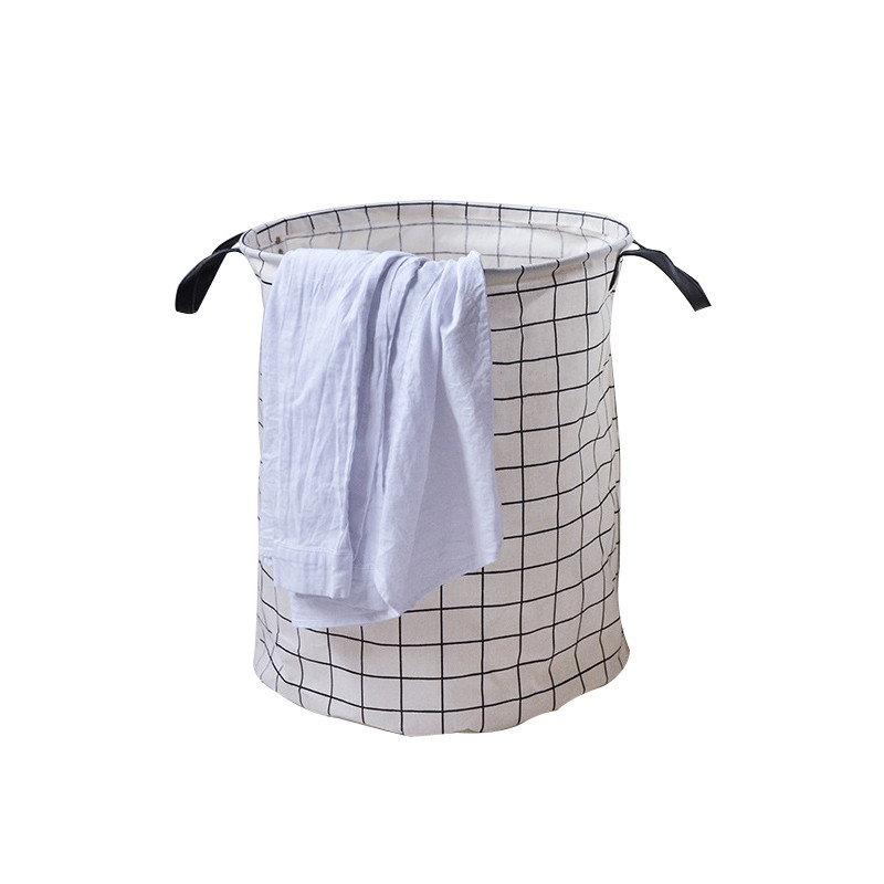 Laundry Storage Baskets Canvas Folding Home Decor Non Woven Storage Basket  Make Up Brush Cosmetic Bedroom Storage Bags-in Storage Boxes & Bins from ...
