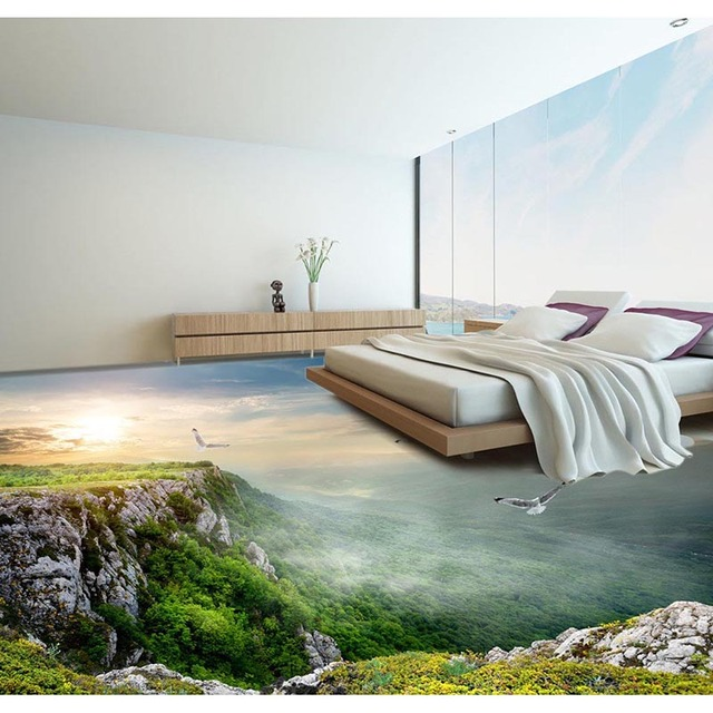 Floor Wallpaper Amazing Landscape Room Decor Living Room Bedroom 3D Floor  Mural PVC Self Adhesive Part 95