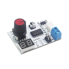 Robot Servo Tester Knob Controller Voltage Display Board RC Parts Remote Control Educational Robot diy robot 17dof biped robotic educational robot humanoid kit servo bracket educational toy f17326