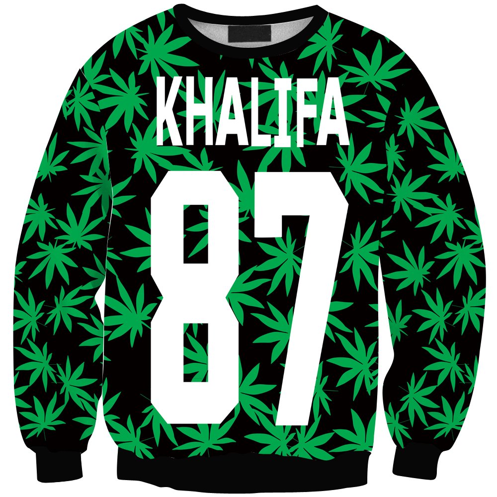 harajuku style wiz khalifa letter hemp plam leaf printed sweatshirt homme femme simple hoodie. Black Bedroom Furniture Sets. Home Design Ideas
