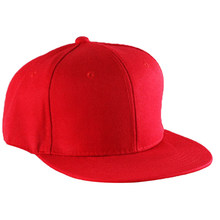 579fbc0d4a6 Wholesale Solid Color Baseball Cap Men Women Flat Cap Fashion Plain Blank  Visor Hat Adjustable Hip
