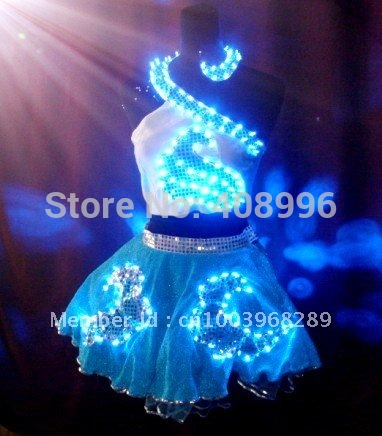 buy light up clothing led dress for party cocktail dress party dress from. Black Bedroom Furniture Sets. Home Design Ideas