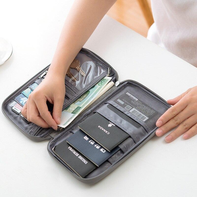 New Passport Covers Travel Organizer Wallet Women Men Passport Holder Case Credit Card Package Travel Accessories Storage Pack
