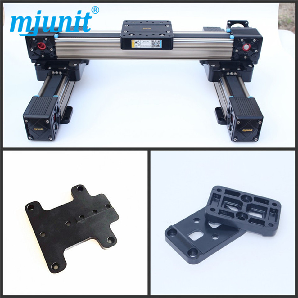 heavy load linear stage MJ60 linear guide 5M-25 toothed belt drive rail linear axis with toothed belt drive belt drive linear rail reasonable price guideway 3d printer linear way