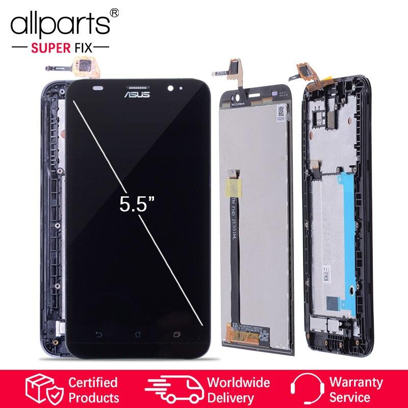 5,5 ''Original LCD Für ASUS Zenfone 2 ZE551ML LCD Display Touch-Screen-Digitizer mit Rahmen für ASUS Zenfone 2 ZE551ML Z00AD LCD