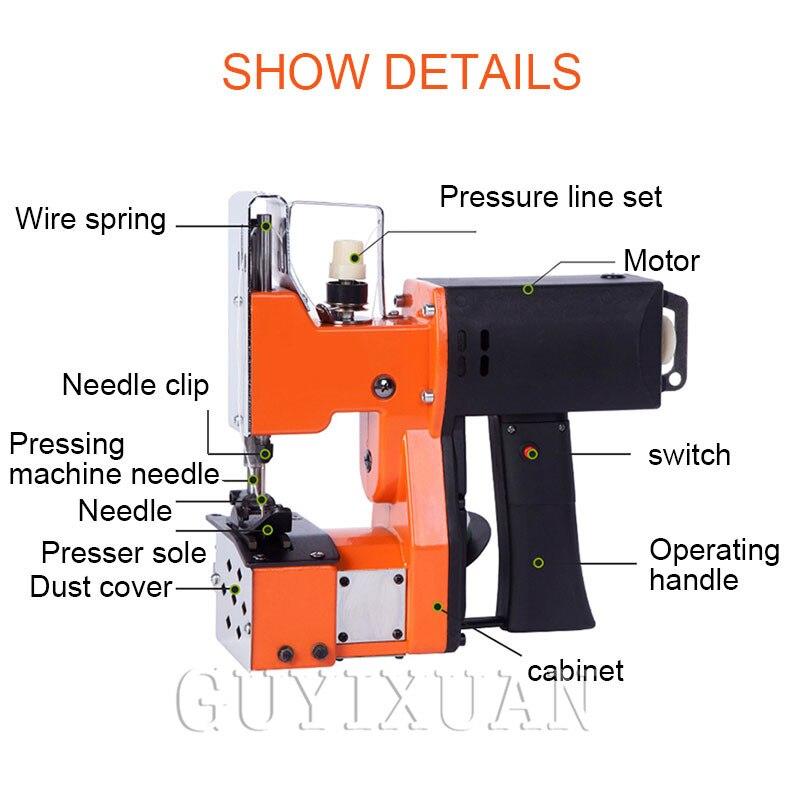 Портативная швейная машина высокоскоростная электрическая швейная машина карманная швейная машина - 2