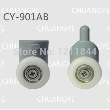 shower roller  OD :22mm shower room accessories shower door wheels