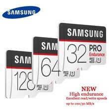 SAMSUNG PRO Endurance Micro carte SD 128GB 64GB 32GB Class10 SDHC SDXC UHS 1 carte mémoire Microsd TF carte 100 mo/s avec adaptateur