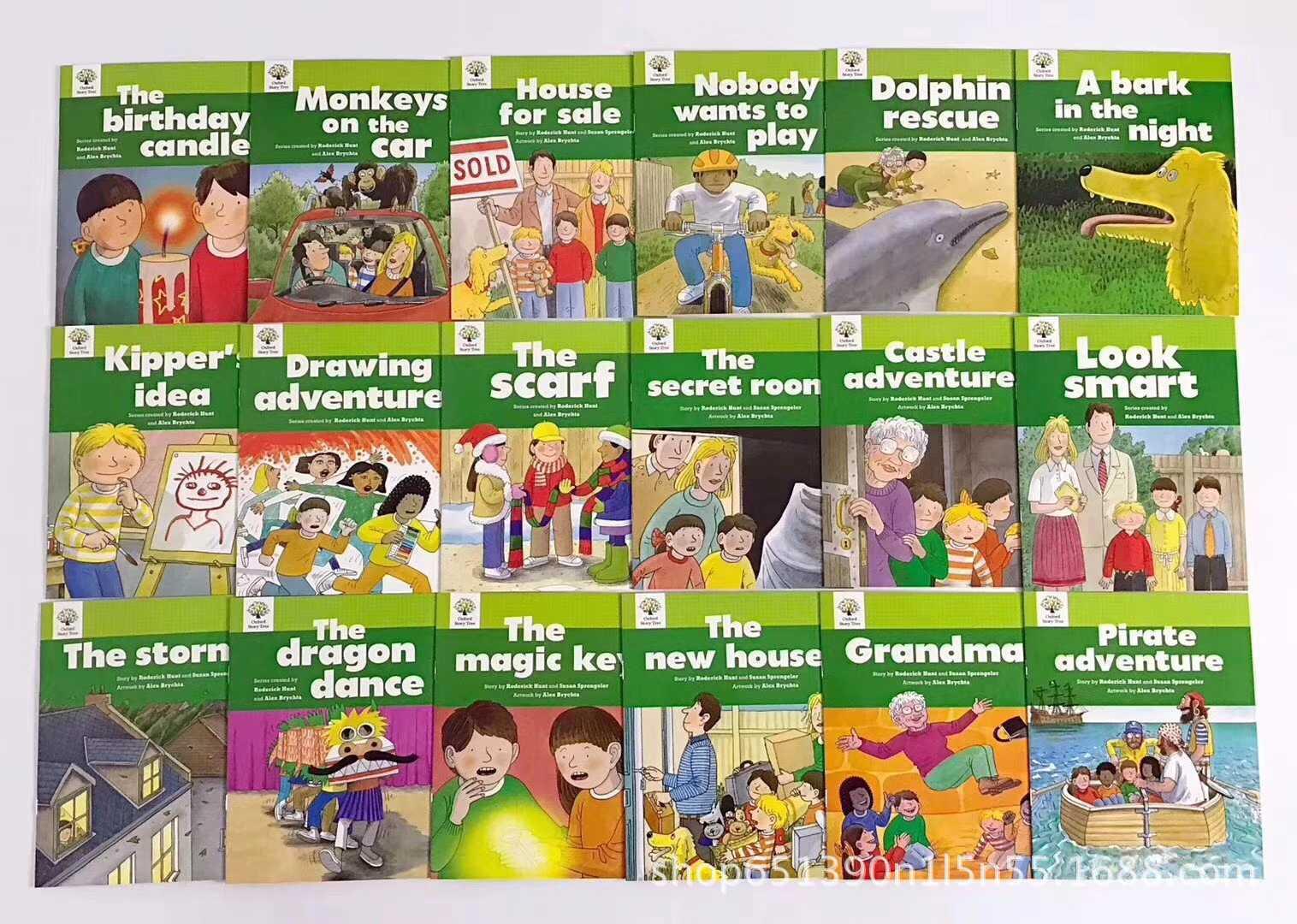1 Set 52 livres 1-3 niveaux Oxford Story Tree bébé anglais lecture livre photo histoire maternelle jouets éducatifs pour les enfants - 5