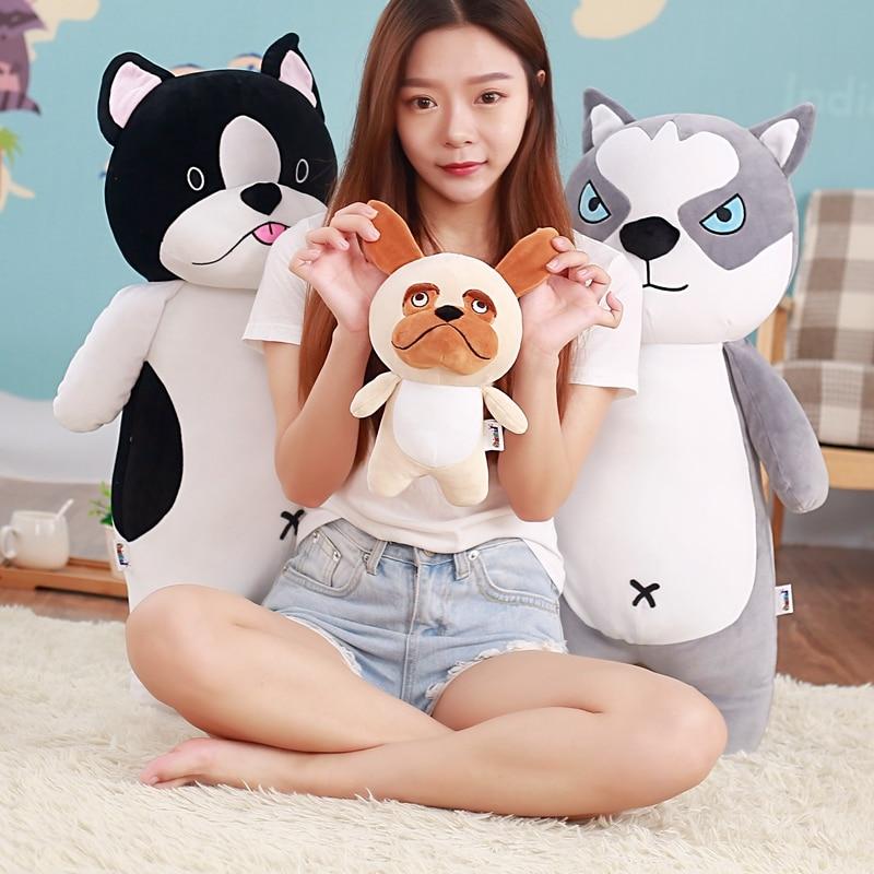 1pc 25cm Cute Husky Dog Plush Toy Staffed Soft Puppy Dog Doll Kawaii Animal Gift for Kids Baby Christmas Gift for Children
