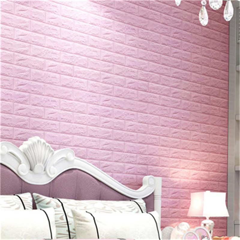 Stone Wallpapers Brick Wall Paper Decorative DIY 3D Brick