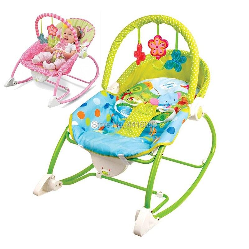 Bébé berceau bébé musique pacifier enfants multifonctionnel électrique secoua swing de chaise Enfants chaise berçante Électrique balançoire pour bébé