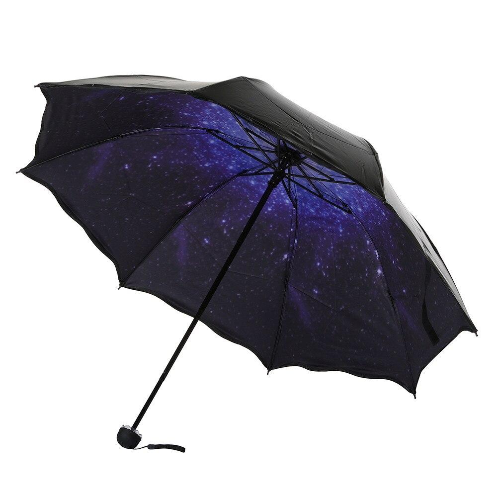 Travel Parasol Folding Rain Windproof Umbrella Folding Anti UV Sun Rain Umbrella Lace black plastic umbrella in Umbrellas from Home Garden
