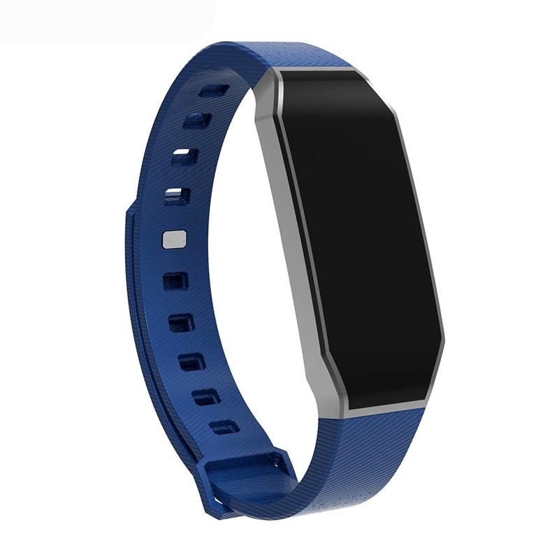 2018Vrouwen Mannen Smart Armbåndsur Horloge Sport Vandtæt blodtryk - Mænds ure - Foto 3
