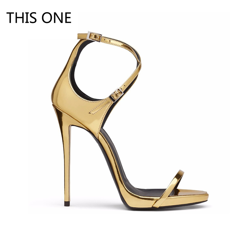 Women Sandals Sexy High Heels Women Pumps 2018 Women Shoes Gold Summer Sandals Heels Ladies Shoes in High Heels from Shoes