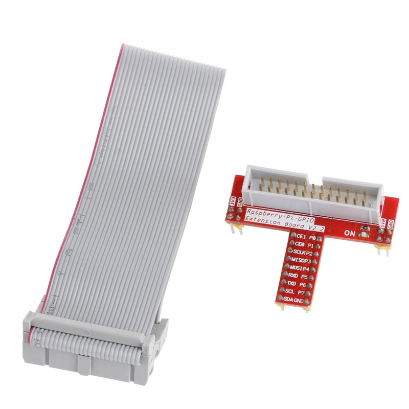 GPIO Extension Board + 26pin Connection Cable DIY Kit For Raspberry Pi