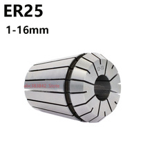 1pcs elastic chuck 25 high precision ER25 chuck CNC tool engraving machine ER spring chuck verbose chuck  er25
