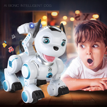 RC Wireless Remote Control Smart Dog Sing Dance Walking Remote Robotica Electronic Pet Educational Children's Toy Birthday Gift