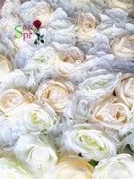 SPR Бесплатная доставка 10 шт./партия свадебное украшение искусственное цветочное настенное свадебное фон ручной работы цветочное расположе