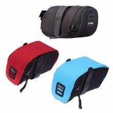 B-SOUL Bicycle Saddle Bag Rear Seat Pouch Cycling Storage Bag
