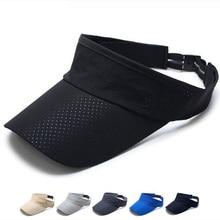 Men,s &Womens Hats Summer Sunscreen New Quick-drying Sun Hat Outdoor Travel Cap Without Top Bucket