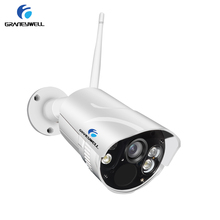 Graneywell Wifi IP Camera 1080P Smart Color Night Vision Outdoor Wireless Weatherproof Indoor Security Bullet SD Card IP Camera(China)