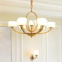 Pure Copper Modern Pendant Lamps Design Loft Lamps Light Fixtures Luminaria Nordic Vintage Pendant Lamp Luminarias