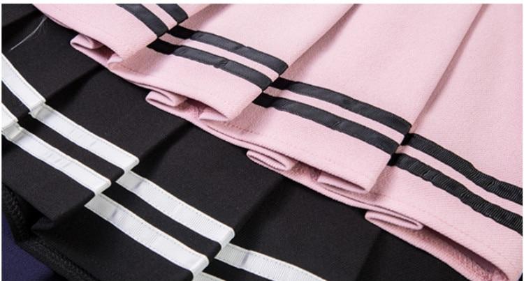Falda de animadora estilo sailor en diferentes colores 13