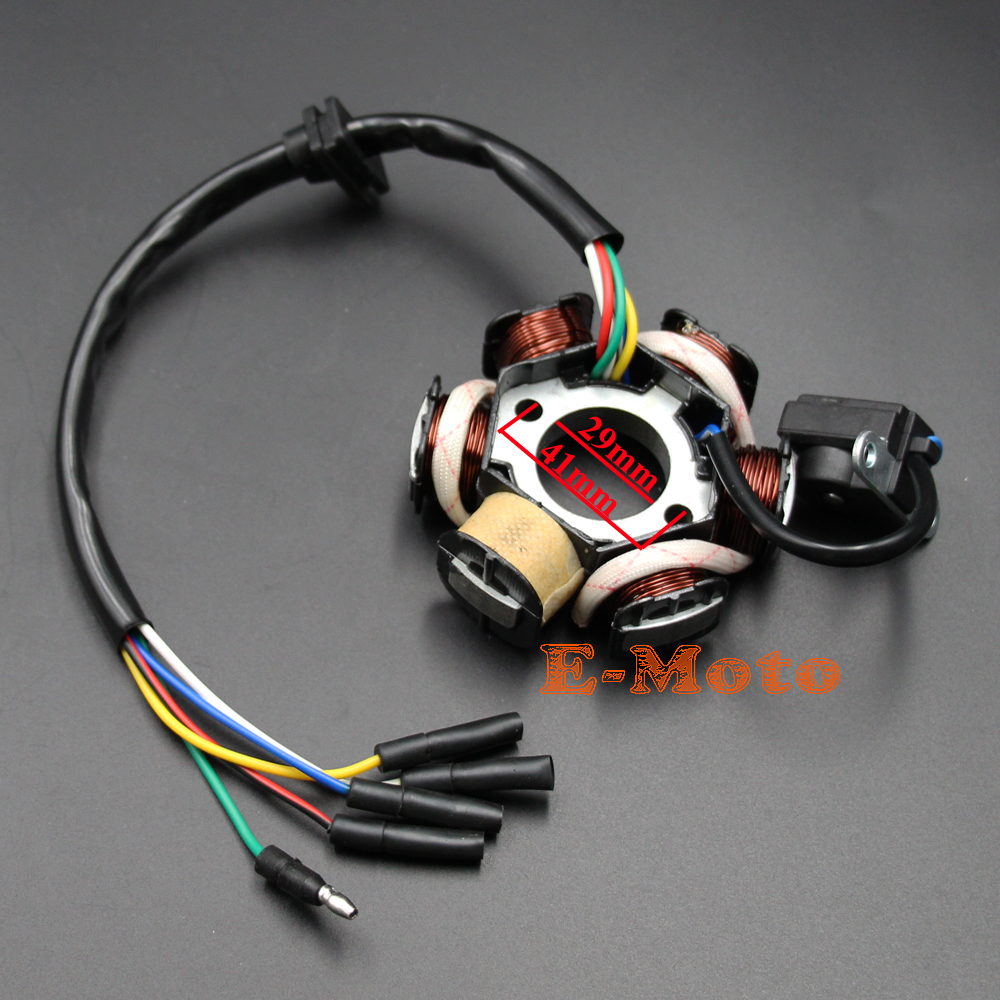 Automobiles & Motorcycles Atv,rv,boat & Other Vehicle Dynamic Magneto Stator 50cc 70cc 90cc 110cc 125cc 4 Wire Engine Parts Atv Bike Go Kart