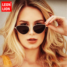 LeonLion 2019 Classic Metal Cat Eye Sunglasses Women Vintage Glasses Street Beat Shopping Mirror UV400 Gafas De Sol Mujer