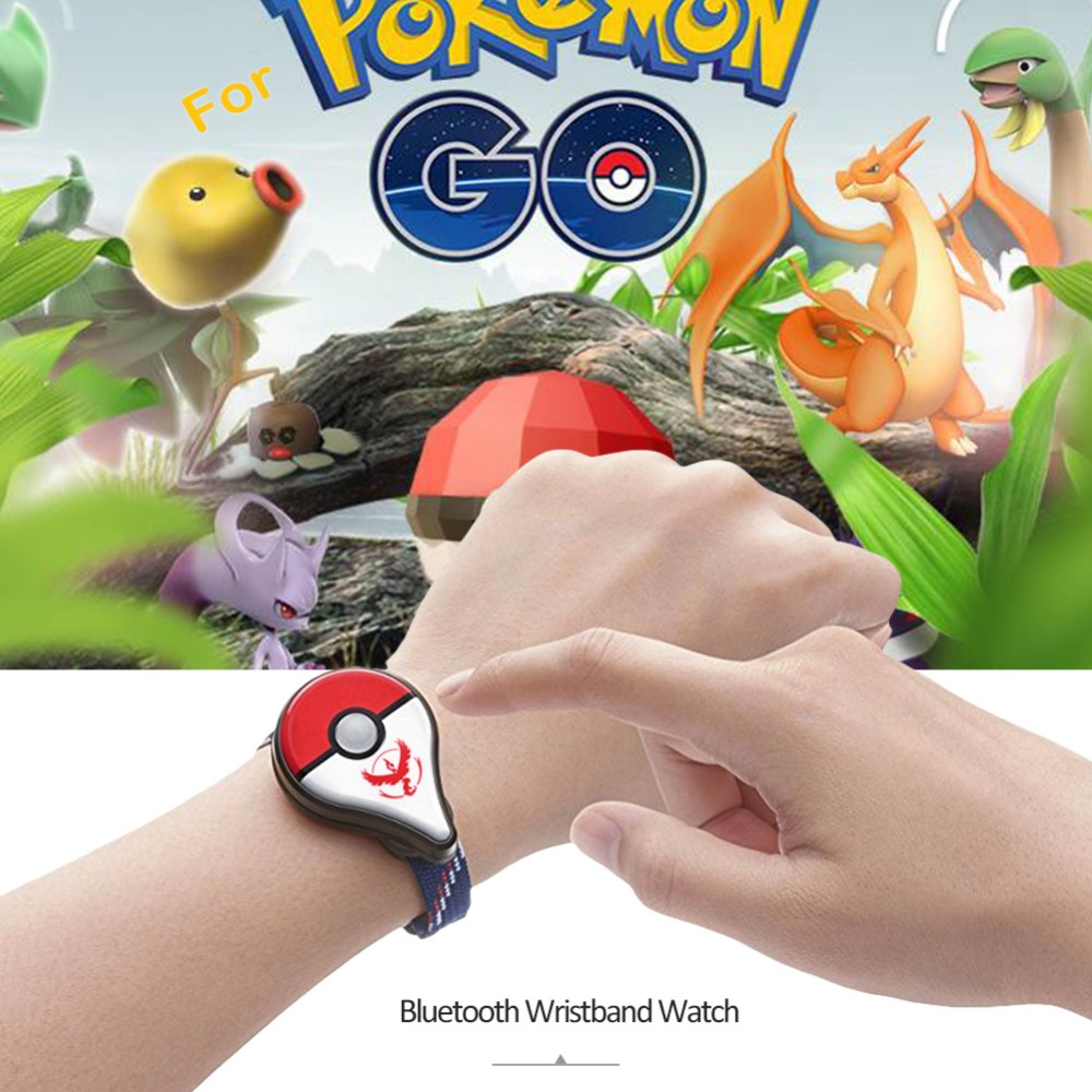 Smart Bracelet For Nintend Pokemon Go Plus 1pcs Bluetooth Wristband Watch Game Accessory For Nintend Pokemon Go Plus