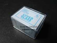 SAIL BRADN 1000pcs/set Disposable Microscope Coverslip 24X32mm Thickness 0.13-0.17mm Cover Glass