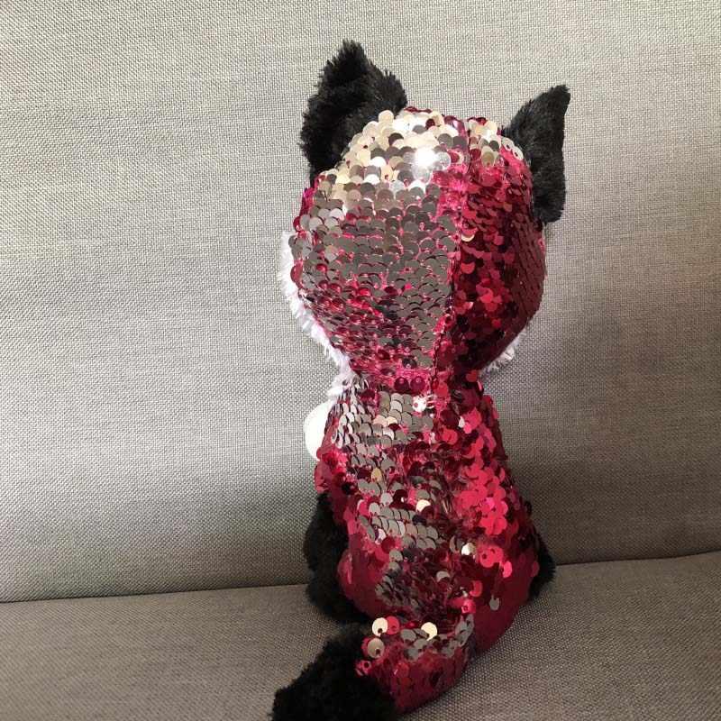 """Ty Vaias Gorro 6 """"Regular de 15 centímetros Raposa Coruja Dragão Unicórnio De Pelúcia Macio Grande-eyed Stuffed Animal Coleção boneca de Brinquedo com Tag Coração"""